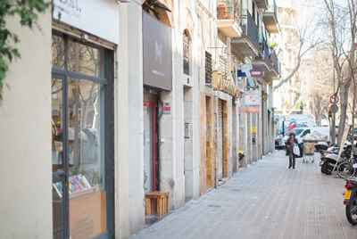 Commercial space in Barcelona in L'Eixample district